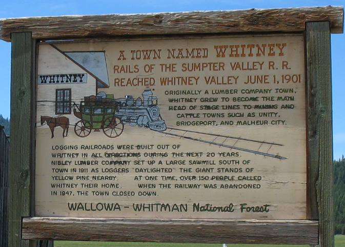 Whitney - Eastern Oregon Ghost Town | Historic Sumpter